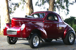 Click to View Roy Brizio Street Rods Completed Cars - Owner Reggie Jackson - Seaside CA