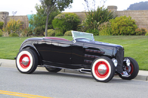 Click to View Roy Brizio Street Rods Completed Cars - Jim Moore - 1932 Ford Hi-Boy - Napa CA