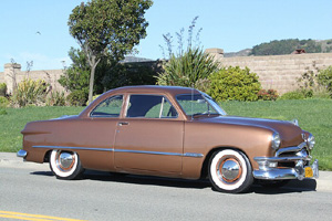 Click to View Roy Brizio Street Rods Completed Cars - John Mumford -1950 Ford - Woodside CA