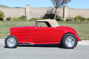 Click to View Roy Brizio Street Rods Completed Cars - Mike Corazzelli - 1932 Ford Roadster - Foster City
