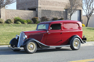 Click to View Roy Brizio Street Rods Completed Cars - Dennis Mariani - 1933 Ford Sedan Delivery - Winters CA