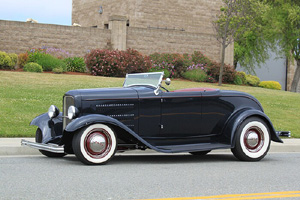 Click to View Roy Brizio Street Rods Completed Cars - Larry Carter - 1932 Ford Roadster - Los Altos CA