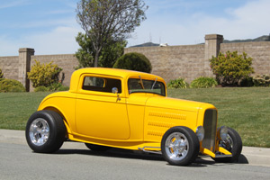 Click to View Roy Brizio Street Rods Completed Cars - Jay Feero - 1932 Ford 3-Window - Half Moon Bay, CA