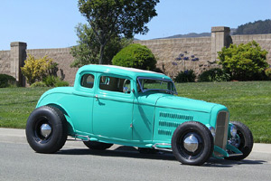 Click to View Roy Brizio Street Rods Completed Cars - Cliff Hanson - 1932 Ford 5 Window Coupe - Newport Beach CA