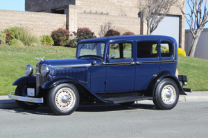 Click to View Roy Brizio Street Rods Completed Cars - Larry Carter, Los Gatos CA, 1932 Ford 4 Door Sedan