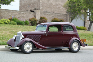Click to View Roy Brizio Street Rods Completed Cars - David & Peg Farmer's 1934 Ford Vicky