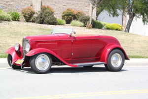 Click to View Roy Brizio Street Rods Completed Cars - Frank & Pam Bracco-1932 Ford Roadster-Calistoga CA