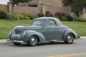 Click to View Roy Brizio Street Rods Completed Cars - Dennis Mariani 1941 Willy's Coupe Windsor CA