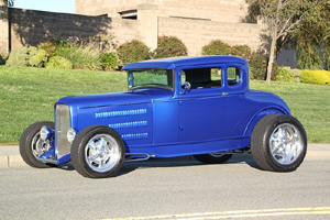 Click to View Roy Brizio Street Rods Completed Cars - Ron Capps, Funny Car Champ, Model A Coupe, Carlsbad CA