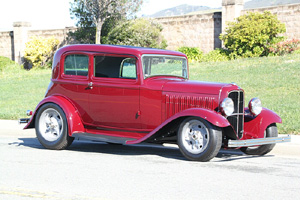 Click to View Roy Brizio Street Rods Completed Cars - Scott Gillen 1932 Ford Vicky Malibu CA