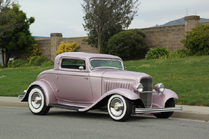 Click to View Roy Brizio Street Rods Completed Cars - Larry Carter - 1932 Ford 3-Window Coupe - Los Gatos CA