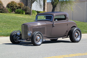 Click to View Roy Brizio Street Rods Completed Cars - Nick Testa, 1932 Ford 3 Window Coupe-Laguna Hills CA