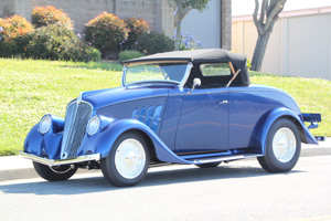 Click to View Roy Brizio Street Rods Completed Cars - Vaughn Veit's 1933 Willys Roadster