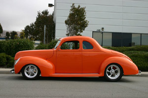Click to View Roy Brizio Street Rods Completed Cars - Owner Paul Bonderson - Sunol CA