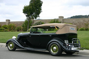 Click to View Roy Brizio Street Rods Completed Cars - Mel Taormino - Grants Pass OR