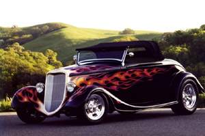 Click to View Roy Brizio Street Rods Completed Cars - John and Linda Valentine - Northville MI