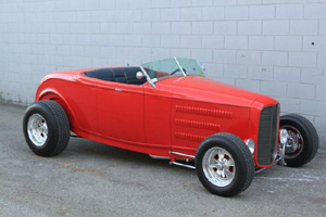 Click to View Roy Brizio Street Rods Completed Cars - Vic Edelbrock JR - Rolling Hills CA